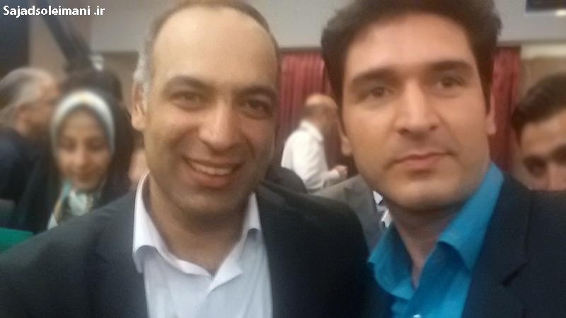 عکس سلفی سجاد سلیمانی و محمدرضا شعبانعلی