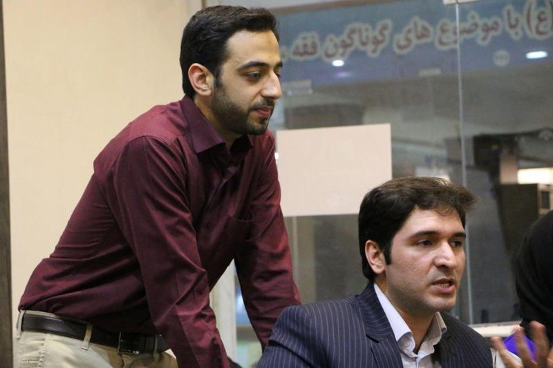 سجاد سلیمانی و سیدمحمدحسینی بنیانگذار مرتا