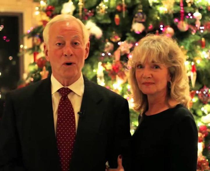 عکس جدید برایان تریسی و همسرش باربارا